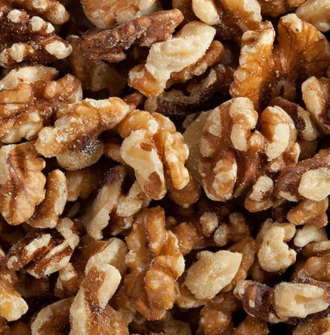 Очищенные грецкие орехи