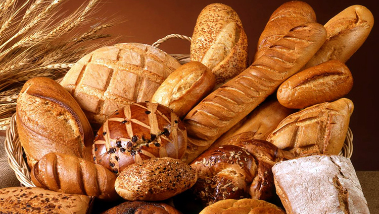 Много свежего хлеба