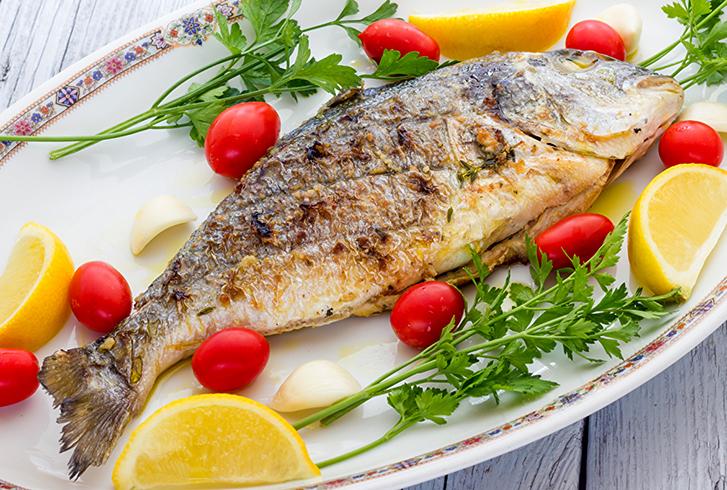 Еда из рыбы