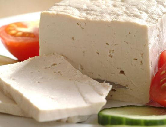 Готовый к употреблению сыр тофу