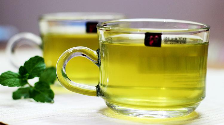 Свежий чай с мятой