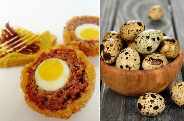 Как выглядят перепелиные яйца