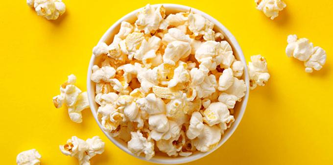Как выглядит попкорн