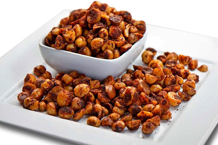 Приготовленные орехи