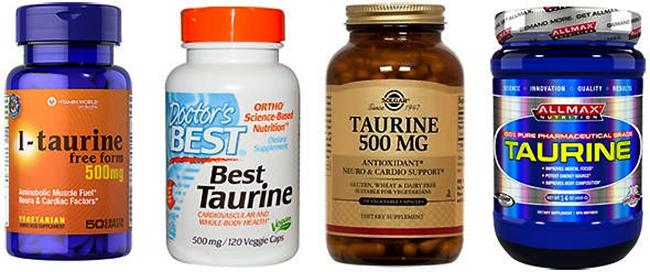 Препараты с таурином