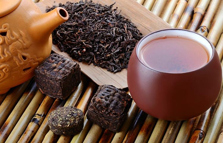 Как выглядит чай пуэр