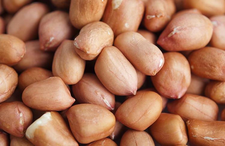 Свежий арахис