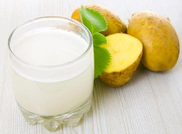 Сок из картофеля