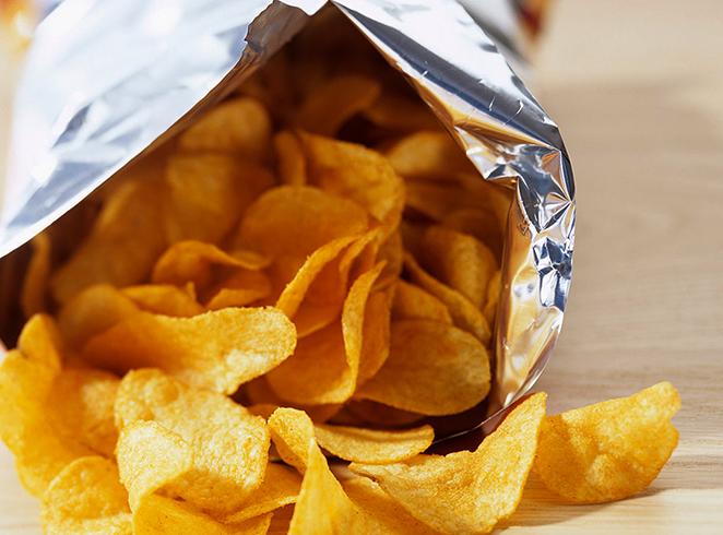 Упаковка с чипсами