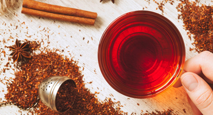 Употребление чая ройбуш