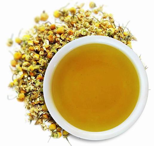 Вкусный ромашковый чай