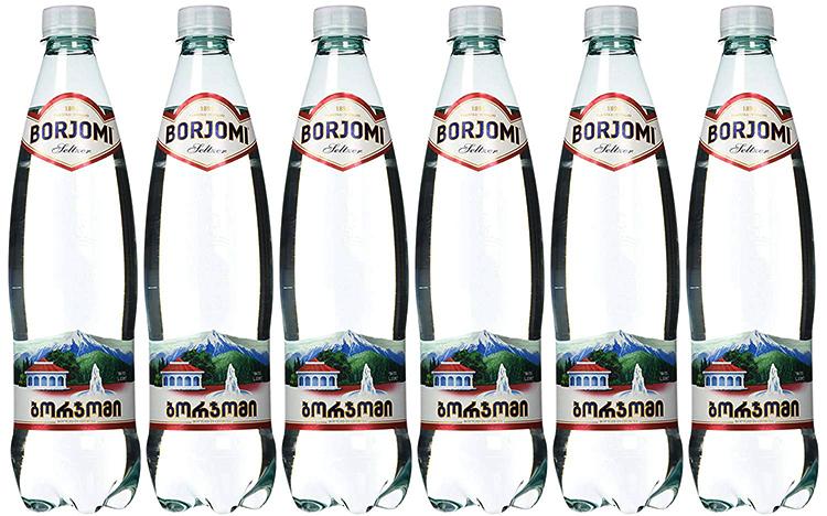 Бутылки боржоми