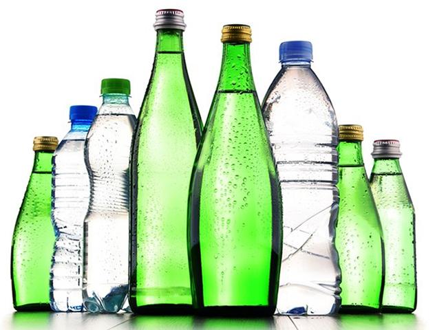 Бутылки с водородной водой
