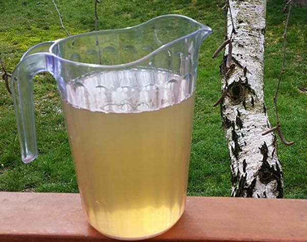 Сок перед употреблением