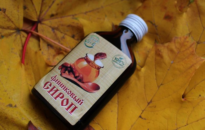 Бутылка сиропа