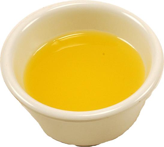 Чаша с топленым маслом