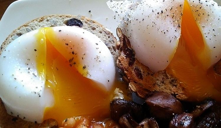 Еда из утиных яиц