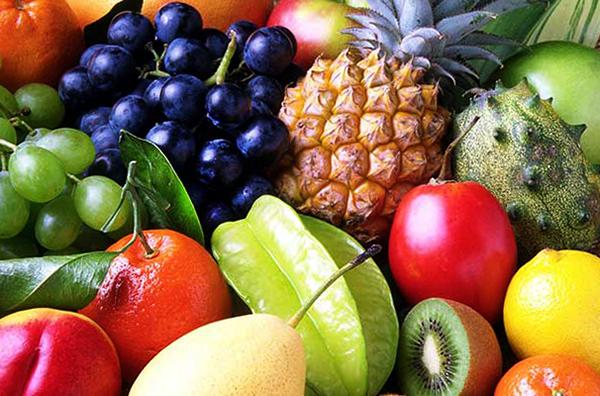 Фрукты с фруктозой
