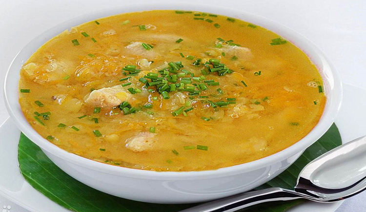 Свежий гороховый суп