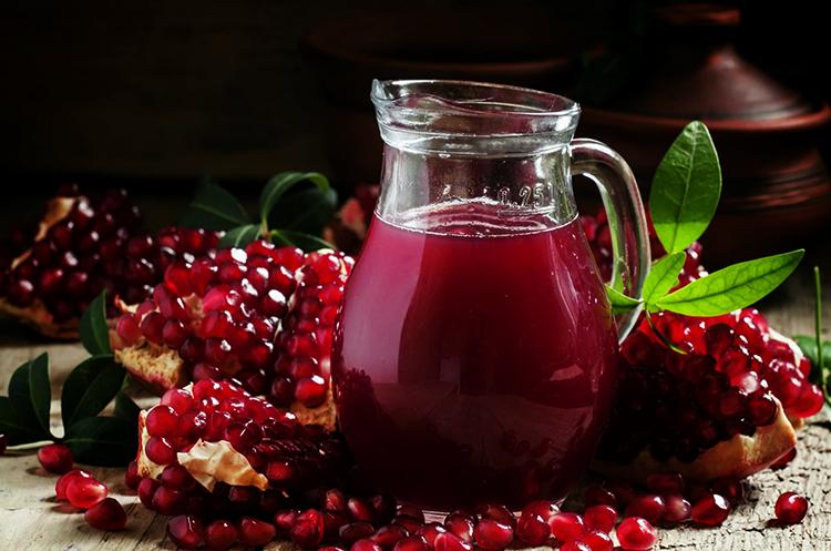 Гранат и гранатовый сок