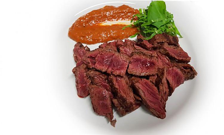 Приготовленное мясо барсука