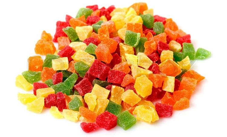 Из чего делают цукаты которые продают на рынке и в магазинах