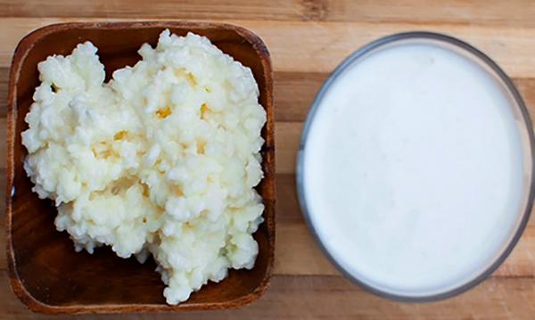 Молочный гриб и кефир