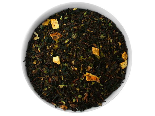 Кружка с сушенным чаем