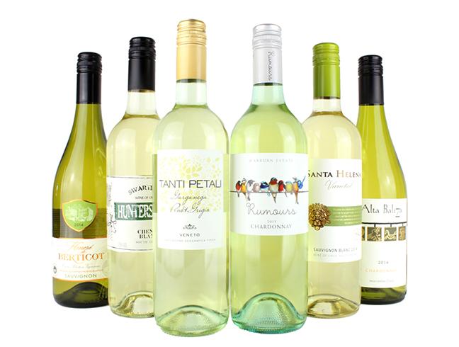 Много белого вина