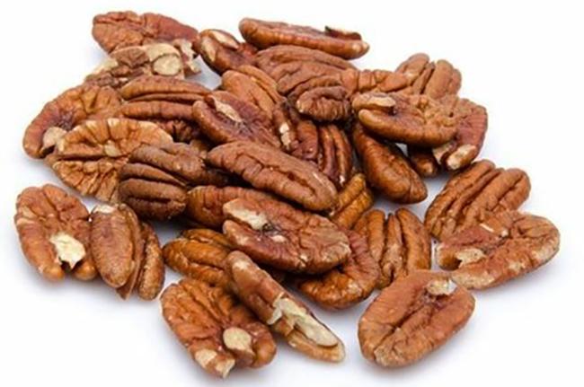 Очищенные орехи пекан