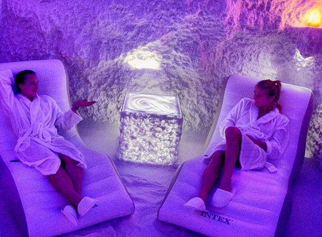 Отдых в соляной пещере