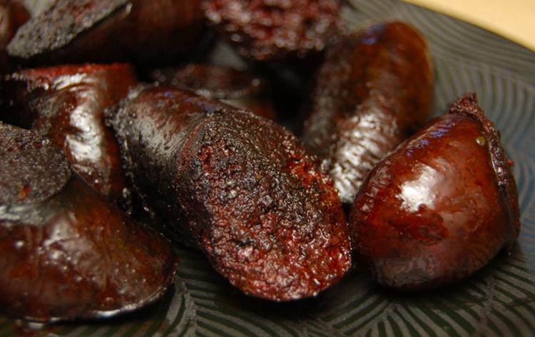 Приготовление кровяной колбасы