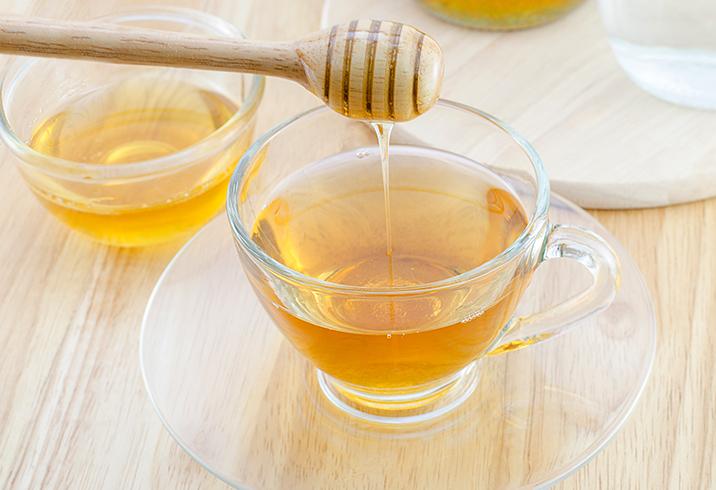 Приготовление воды с медом