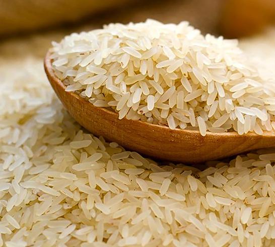 Как выглядит пропаренный рис