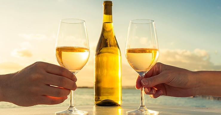 Распитие белого вина
