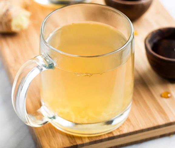 Перед распитием имбирного чая
