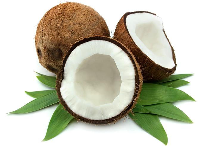 Разломанный кокос