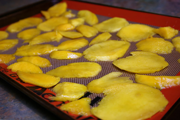 Создание сушеного манго