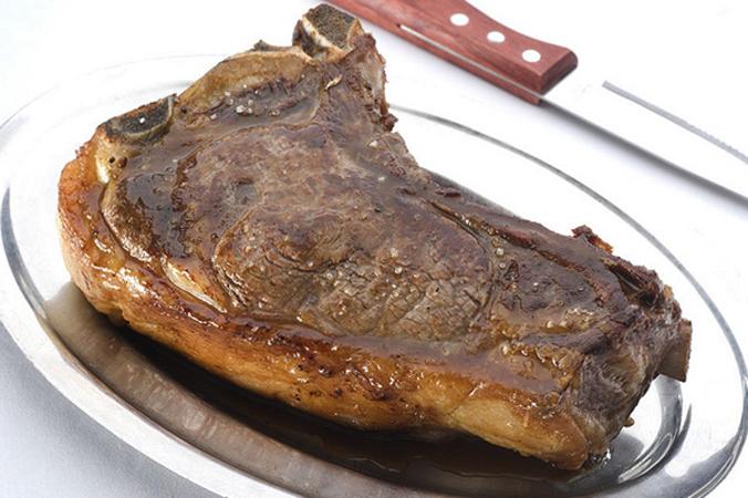 Стейк из барсучьего мяса