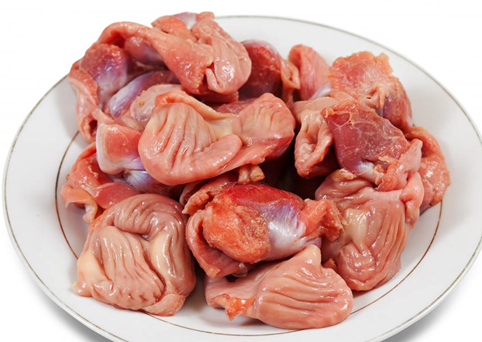 Свежие куриные желудки