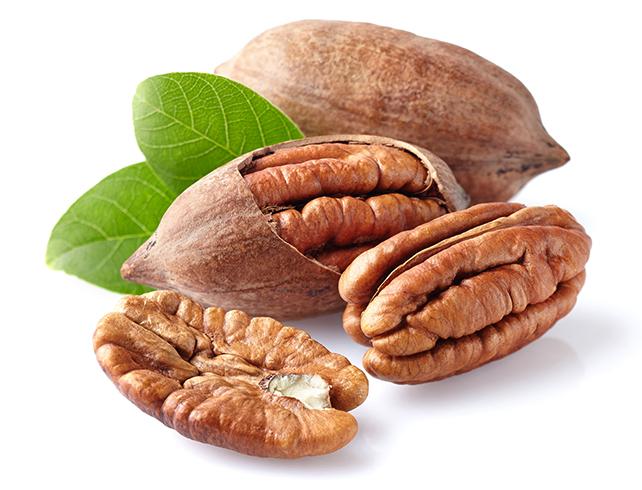 Свежие орехи Пекан