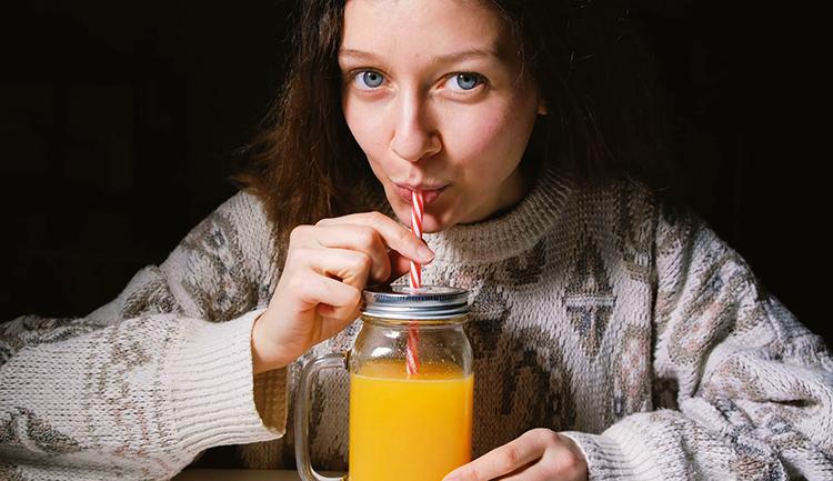 Употребление сока
