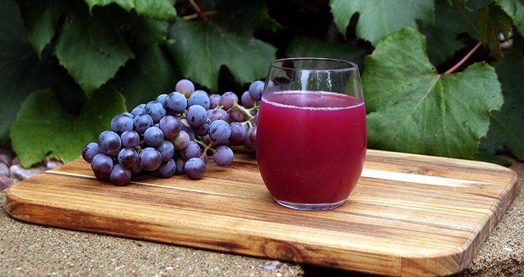 Виноград и виноградный сок