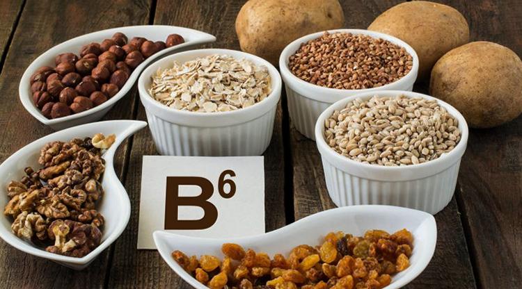 Витамин B6 и еда