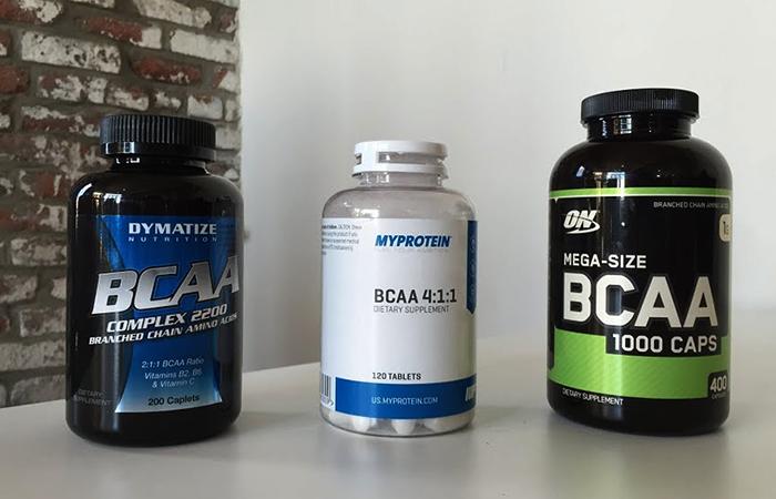 BCAA разных фирм