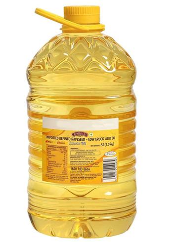 Бутылка с маслом