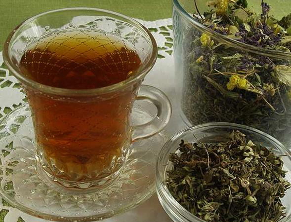 Чашка свежего чая