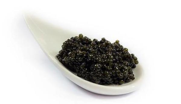 Икра из водорослей черного цвета