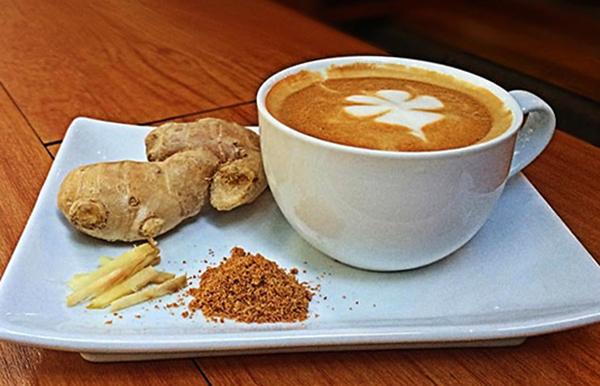 Кофе и имбирь