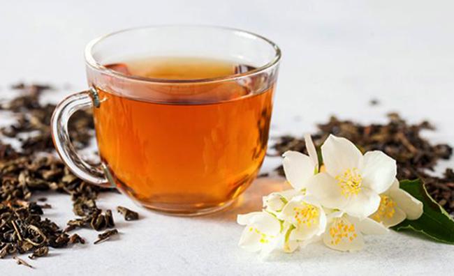 Чашка жасминового чая
